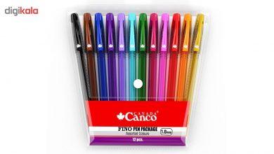 خودکار 12 رنگ کنکو